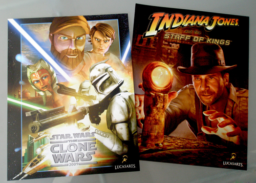 LucasArts sell sheets